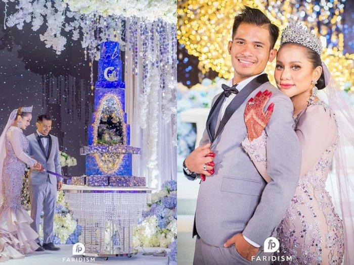 Mewahnya Pernikahan Pria Ini, Kue Pernikahannya Bikin Takjub