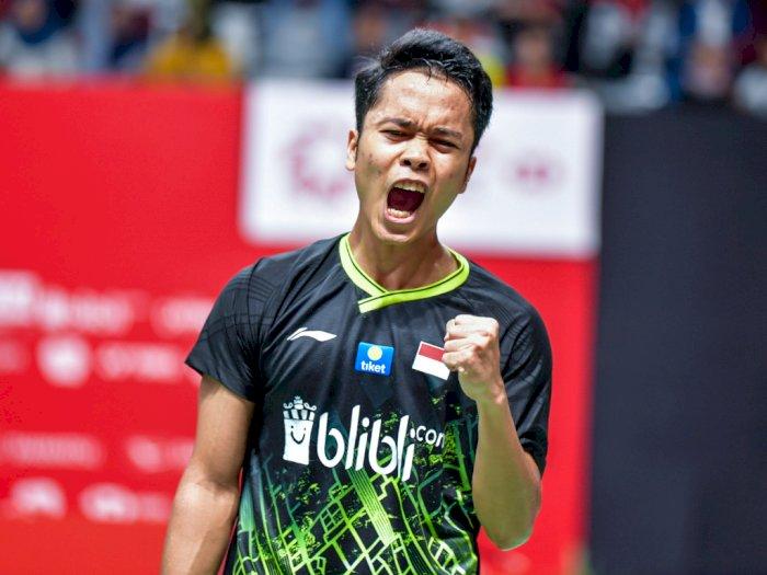 Indonesia Masters Buat Anthony Ginting Lebih Semangat Kejar Olimpiade