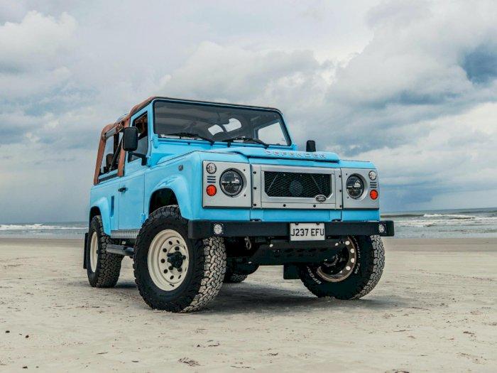 Setelah Dimodif, Land Rover Jadul jadi Menawan
