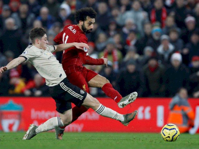 Salah Tutup Kemenangan 2-0 Liverpool atas Manchester United