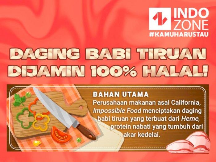 Daging Babi Tiruan Dijamin 100% Halal!