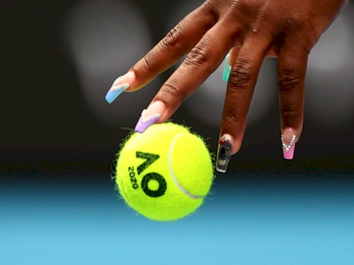 FOTO: Cat Kuku Serena Williams yang Curi Perhatian di Australia Open