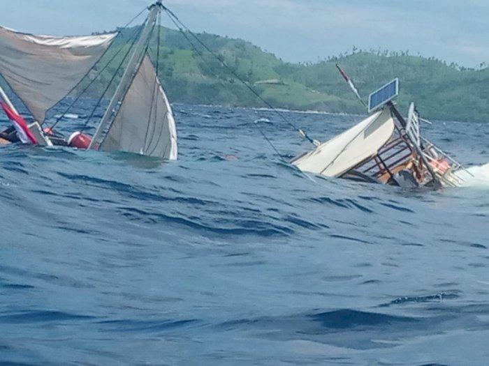 Ini Penyebab Kapal Rombongan Wartawan Istana Terbalik di Labuan Bajo