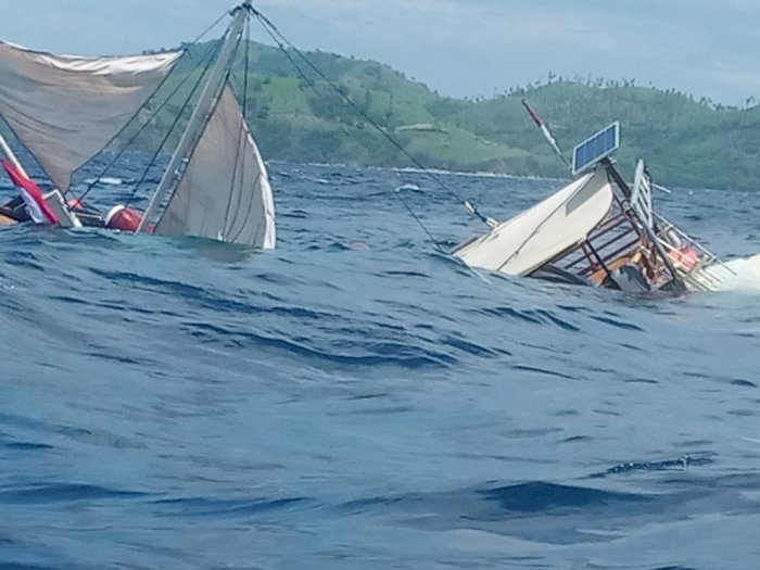 Kapal Wartawan Tenggelam di Labuan Bajo, Tak Ada Korban Jiwa