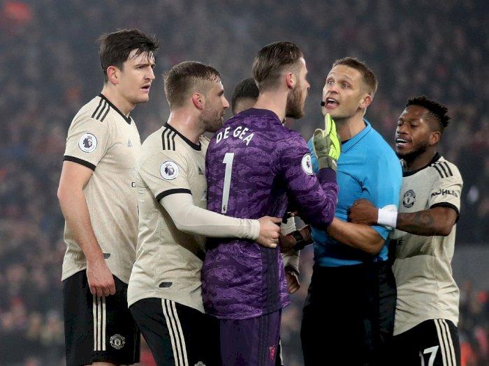FA Hukum Manchester United Saat Laga Kontra Liverpool