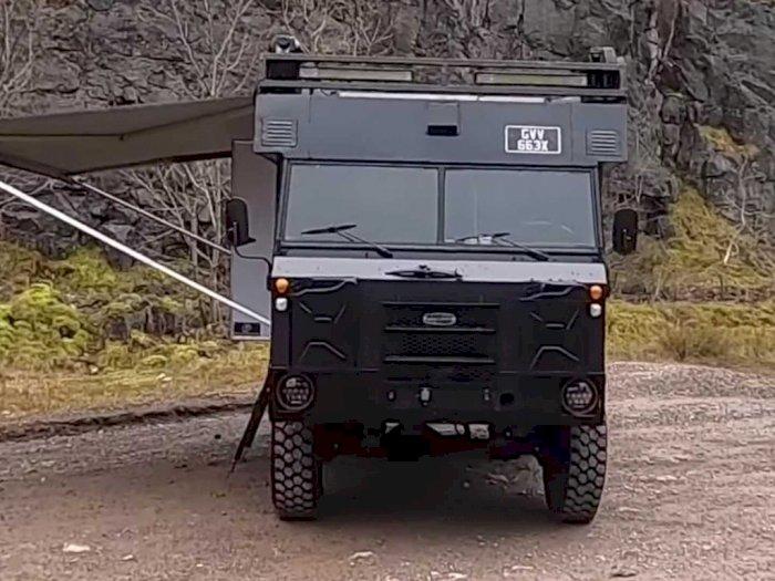 Land Rover 101 Mobil Perang, Kini Jadi Mobil Petualang