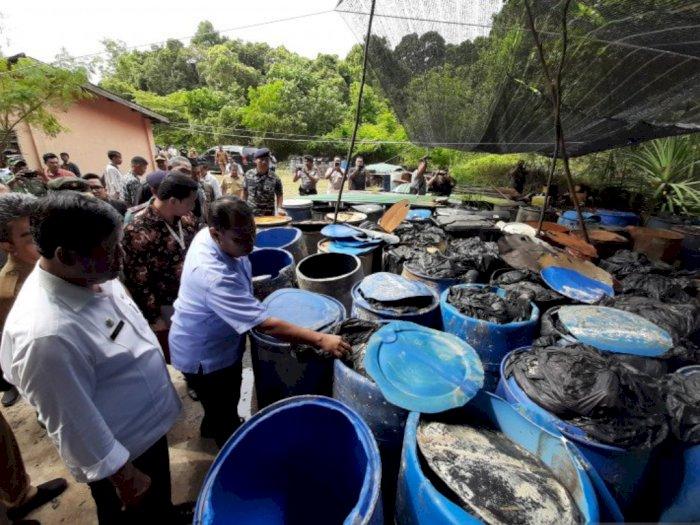 Akibat Limbah Minyak Hitam, Resort ini Rugi Rp2,3 Miliar