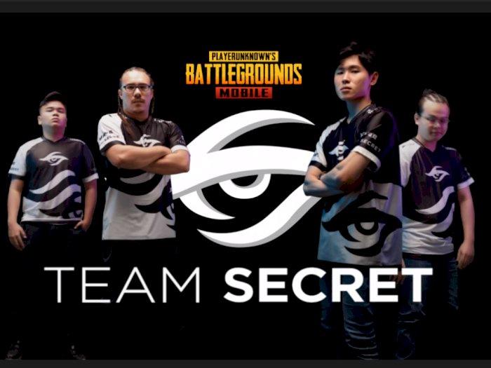 Team Secret Umumkan Roster Baru dari Divisi PUBG Mobile Miliknya!