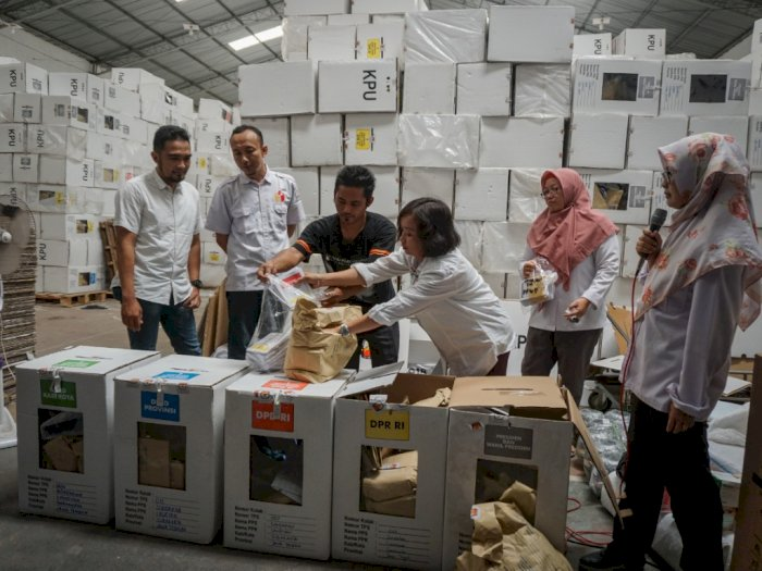 Berapa Banyak  Logistik Pemilu 2019?