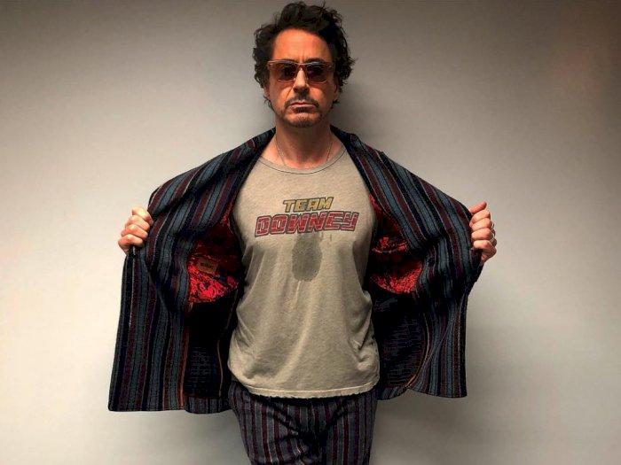Robert Downey Jr Mengaku Sudah Jadi Vegan
