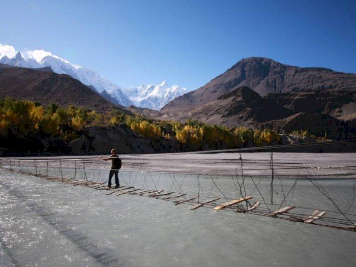 Hussaini Hanging, Jembatan Gantung Menyeramkan di Pakistan