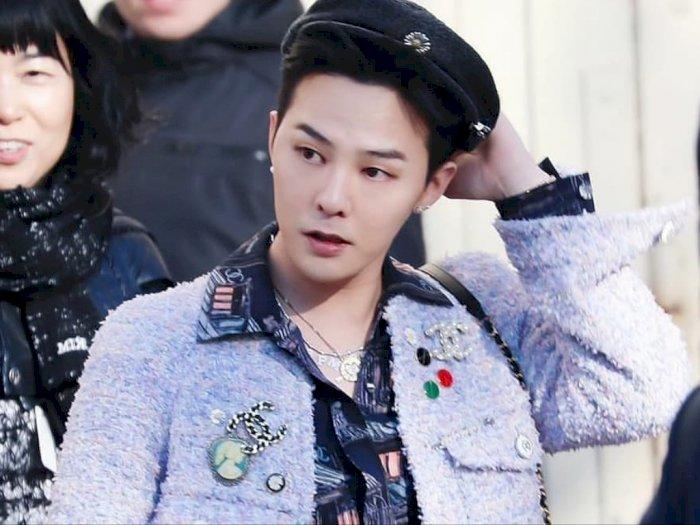 Eksis di Paris Fashion Week, G-Dragon Tampil Nyetrik