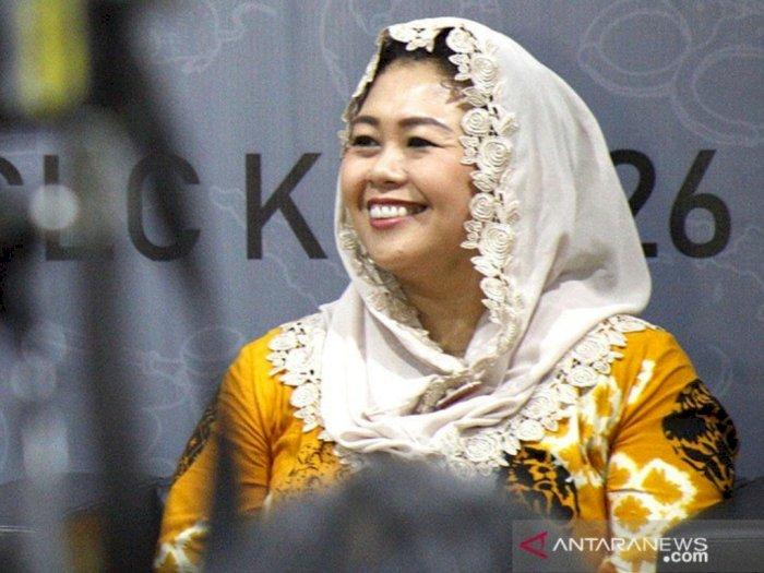 Erick Thohir Sebut Karyawan Wanita Garuda Bisa Curhat ke Yenny Wahid