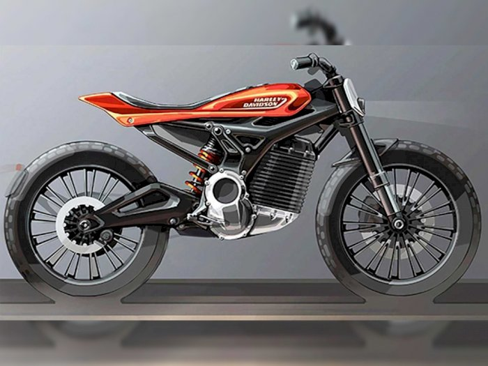 Motor Listrik Terbaru Harley Davidson Bermodel Tracker
