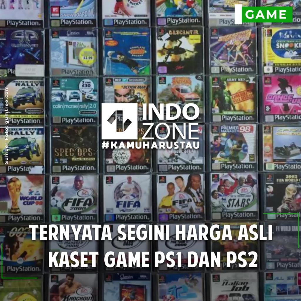 Ternyata Segini Harga Asli Kaset Game PS1 dan PS2