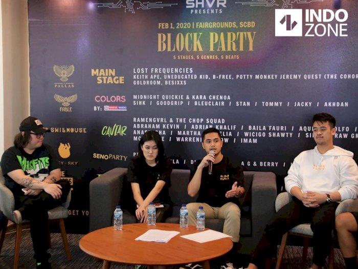 Jakarta Block Party Hadirkan Pesta Musik dengan Lima Genre Sekaligus