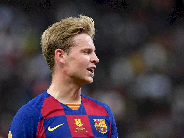 De Jong: Aku Lebih Pilih Liga Champions