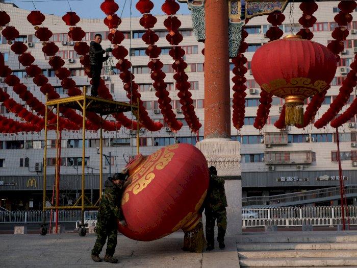 FOTO: Tiongkok Batalkan Perayaan Imlek karena Virus Korona