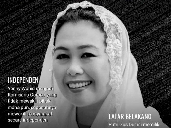 Peran Utama Yenny Wahid di Maskapai Garuda Indonesia