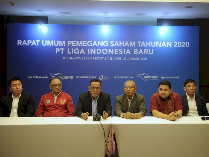 Liga Indonesia Ganti Jajaran Direksi, Ini Susunannya