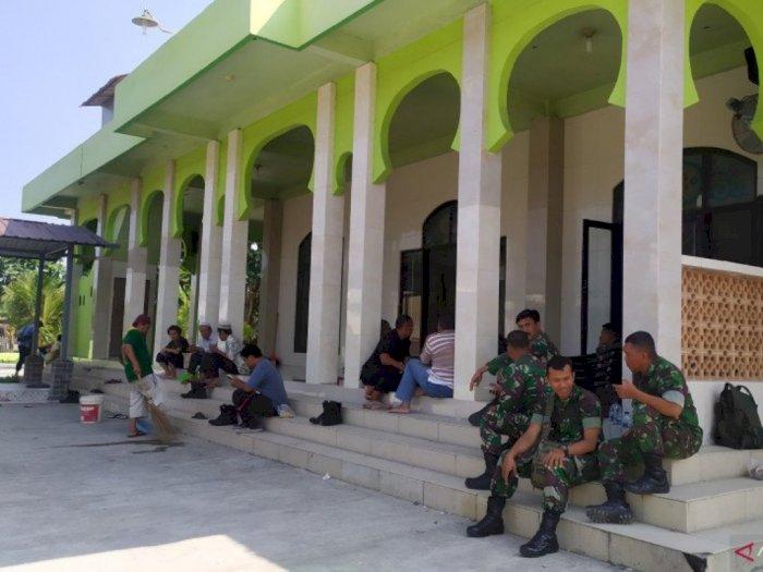 Aparat Masih Berjaga Usai Bentrokan di Masjid Deli Serdang