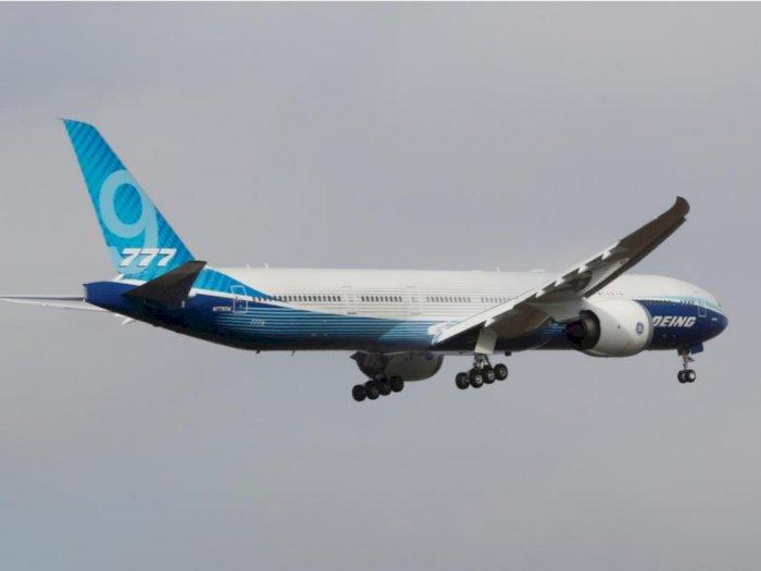 Boeing Sukses Gelar Ujicoba Terbang 777X