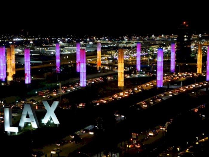 Kobe Bryant Meninggal, Bandara Los Angeles Beri Penghormatan