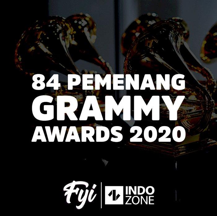84 Pemenang Grammy Awards 2020