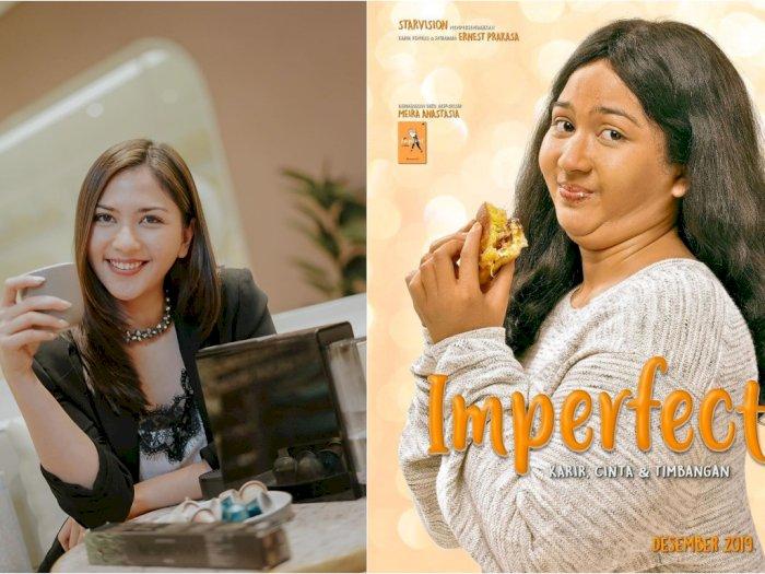 Cerita Jessica Milla yang Susah Naikin Berat Badan Demi 'Imperfect'