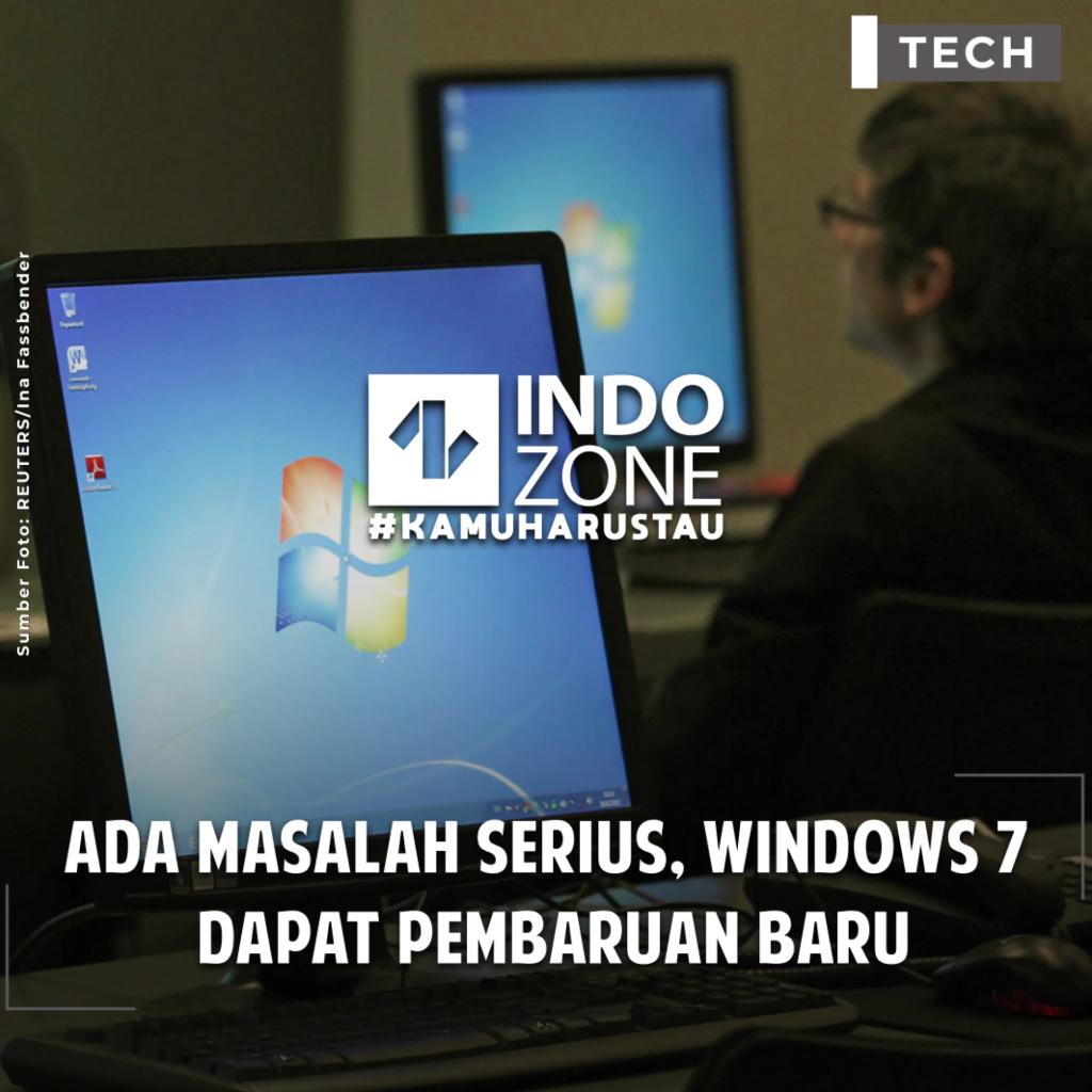 Ada Masalah Serius, Windows 7  Dapat Pembaruan Lagi