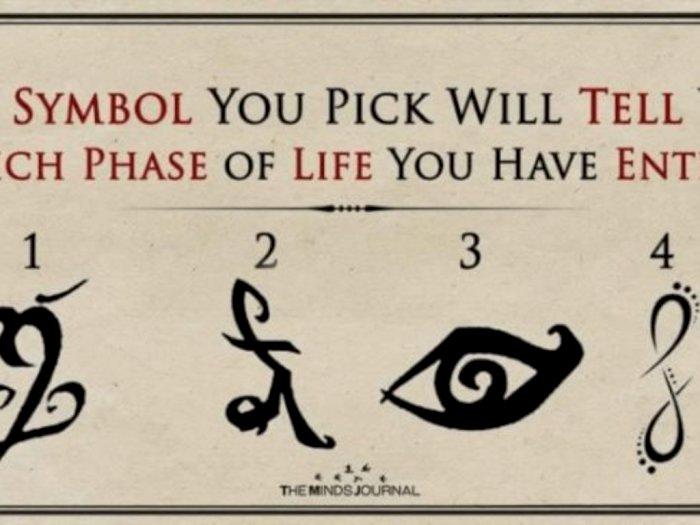 Pilih Salah Satu Simbol Tunjukkan Fase Hidup Kamu Saat Ini