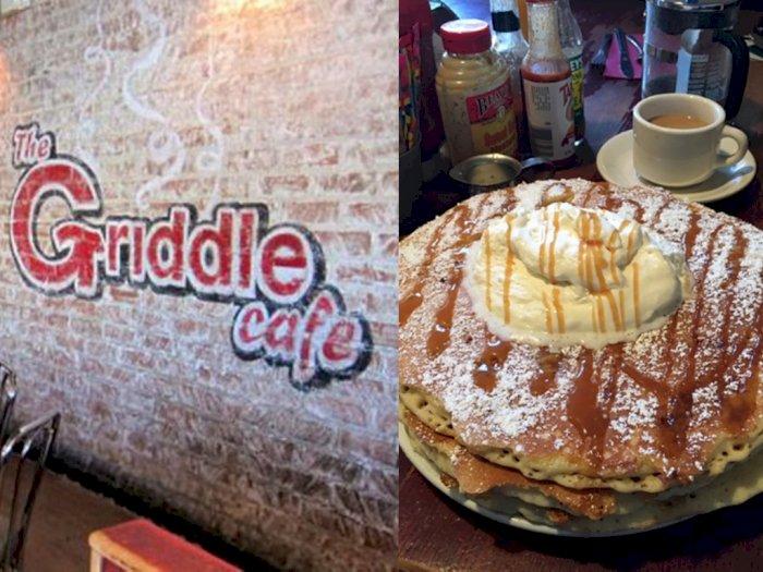 Kafe Ini Hadirkan Menu Pancake dengan Ukuran yang Gede Banget
