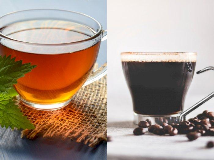 Minum Kopi dan Teh di Pagi Hari Bisa Memperlancar  Pencernaan