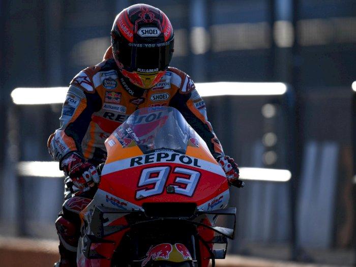 Marc Marquez Tak Pede Bisa 100 Persen di Tes Pramusim MotoGP 2020