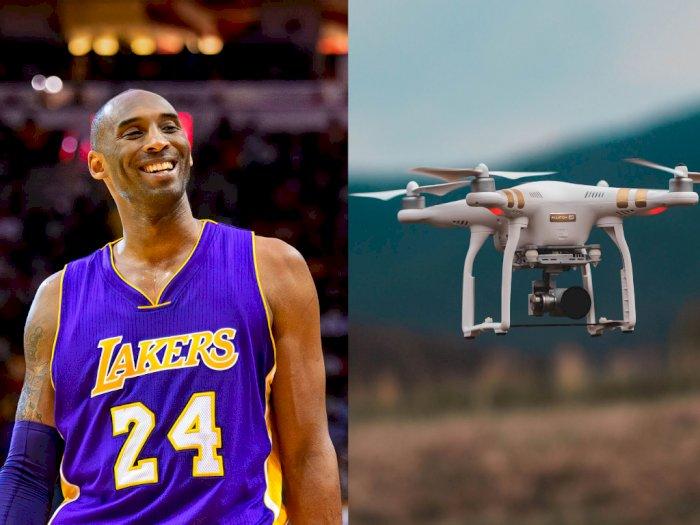 Tempat Kecelakaan Kobe Bryant Kini Diserbu Drone dan Pesawat Kecil