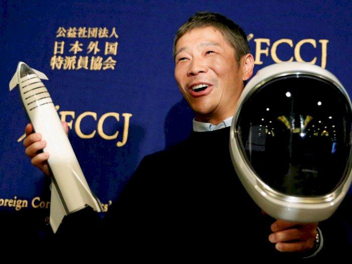 Dasar PHP! Miliarder Jepang Batal Ajak Jalan-jalan ke Bulan