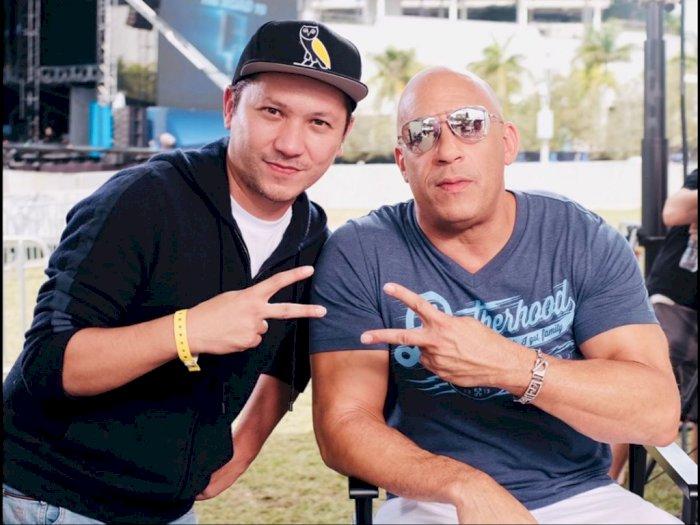 Bikin Iri, Gading Marten Pamer Foto Bareng Vin Diesel