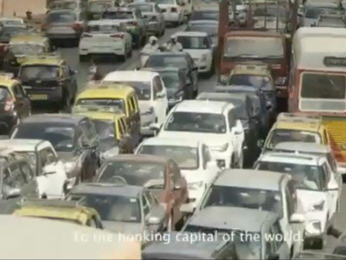 Cara Unik Polisi Mumbai Bikin 'Tukang Klakson' Jera