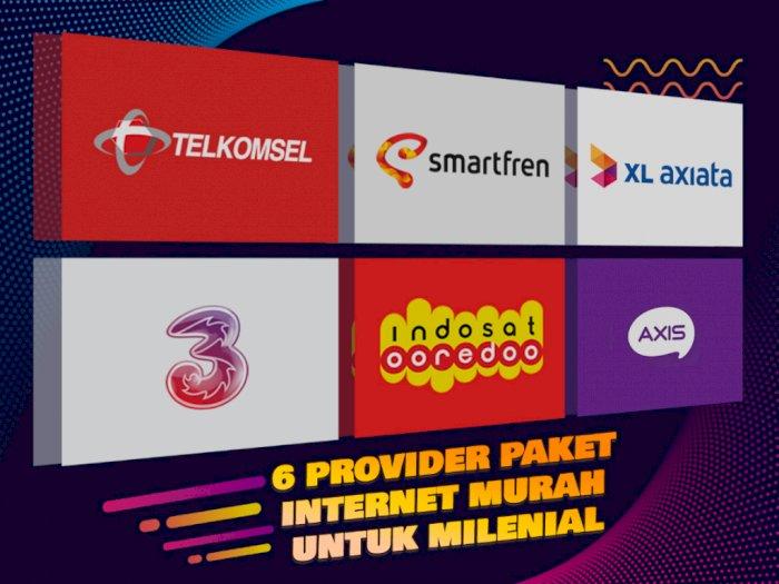 6 Provider Paket Internet Murah untuk Milenial, Mana Paling Cocok?