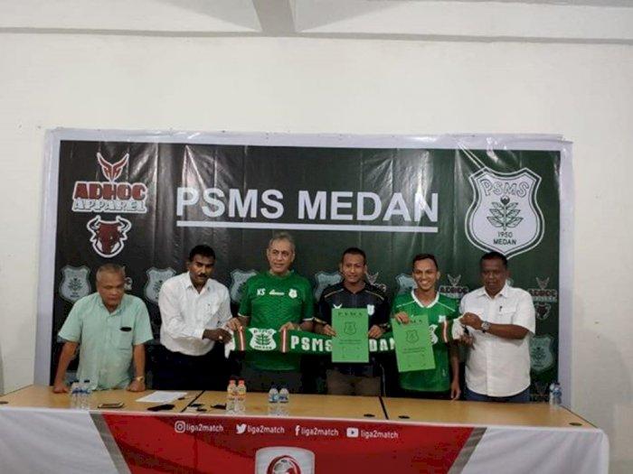 Abdul Rohim dan Rahmad Hidayat Resmi Kembali ke PSMS