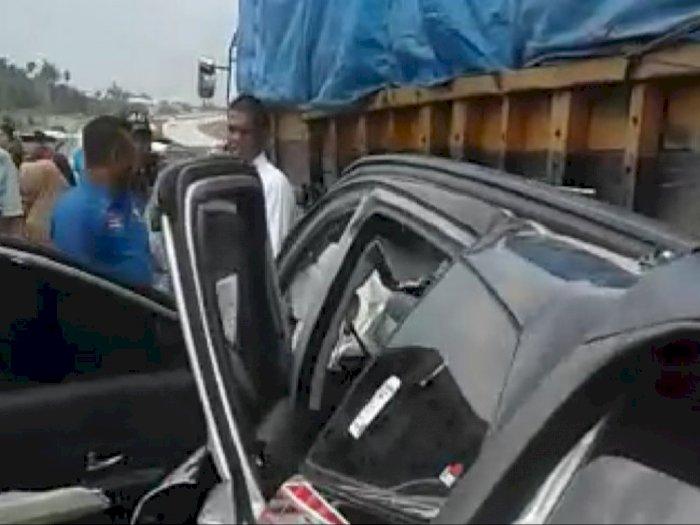 Satu Orang Tewas dalam Tabrakan Maut di Tol Medan- Tebing Tinggi