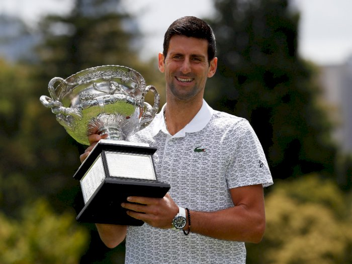 Novak Djokovic Kembali Berada di Peringkat Satu Tenis Dunia