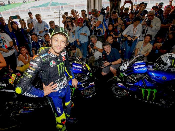 Jika Terus Balapan, Valentino Rossi Gabung Petronas Yamaha SRT