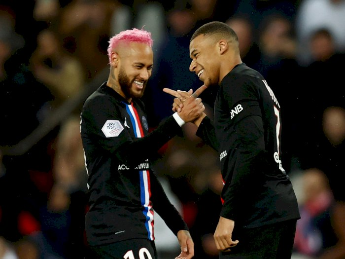 Neymar: Aku Percaya Mbappe Bakal Jadi Pemain Terbaik Dunia