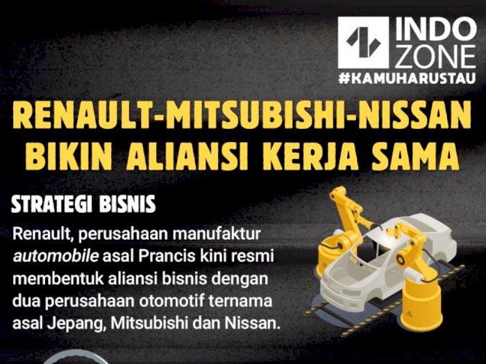 Renault-Mitsubishi-Nissan Bikin Aliansi