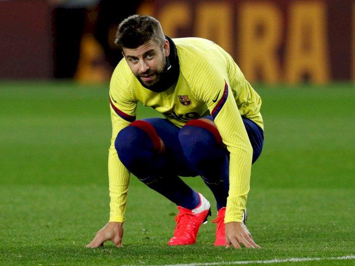 Tersingkir di Copa del Rey, Pique: Bukan Saatnya Saling Menyalahkan