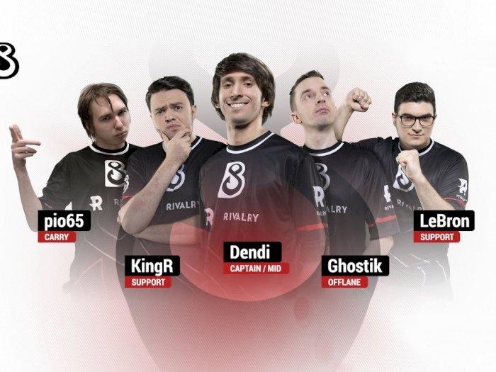 Inilah Roster Lengkap dari B8 Esports, Tim DotA 2 Baru Milik Dendi