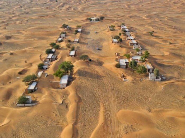 FOTO: Desa Terkubur Pasir di Dubai yang Memikat Wisatawan