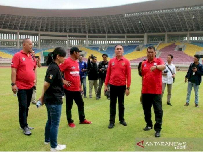 Cek Persiapan Stadion Manahan Solo, PSSI: Nyaris Selevel GBK