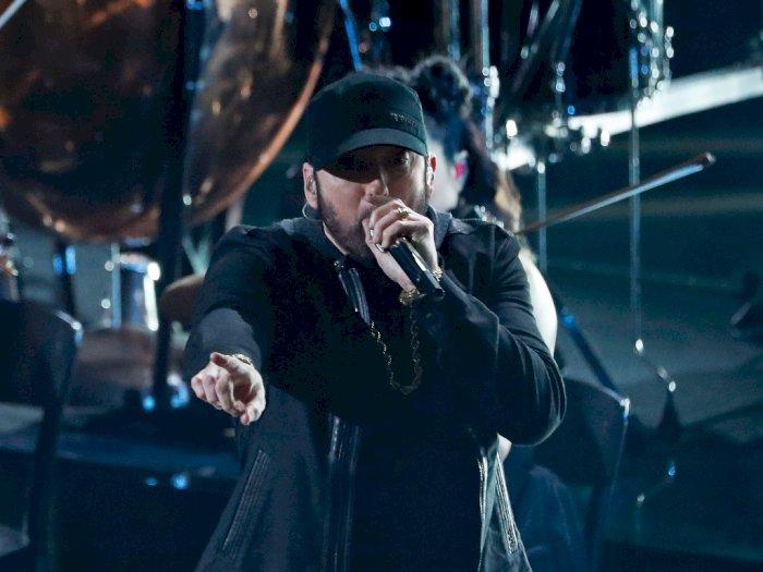 Wow, Eminem Kejutkan Penonton di Oscar 2020